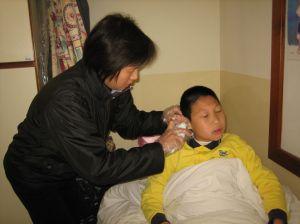 學生護理服務 -  照顧患病學童